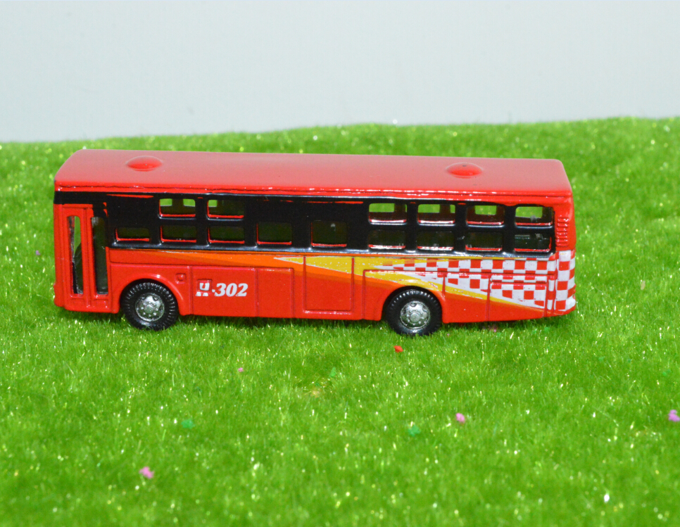 New diecast model alloy bus toys, mini bus toy 1:100 scale school bus passenger toy city bus(China (Mainland))