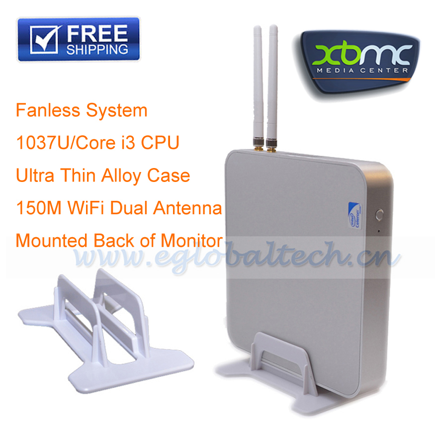 DHL Free Shipping Mini PC Linux XBMC Software Inbuilt 150M WiFi with Dual Antenna HDMI Thin Client Download Full Games for PC(China (Mainland))