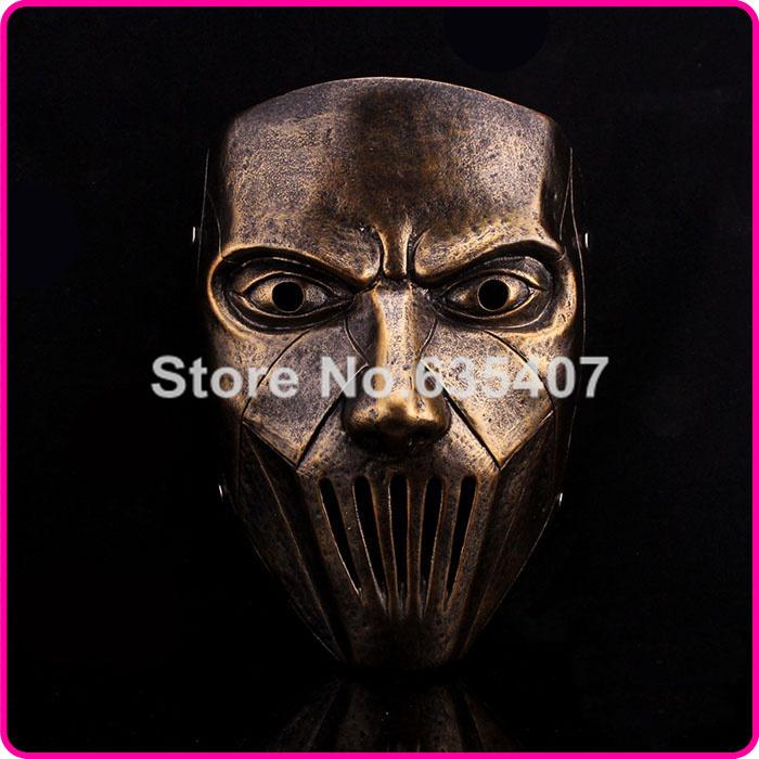Gmask Slipknot Joey Cosplay Mask Silver Halloween Bronze slipknot mask male party mask masquerade masks(China (Mainland))