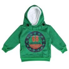 1pc Retail 2015 Boys Cotton Spring Autumn Sweatshirt Letter Printing Long-Sleeve Hoodie Children's Clothing 18(China (Mainland))