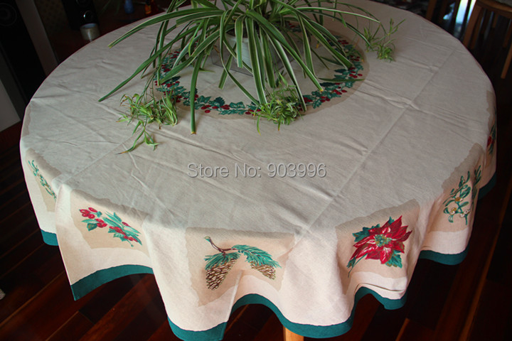 Free shipping-Round 178cm models exported to Europe tablecloth tablecloth fabric applique Figure Continental(China (Mainland))