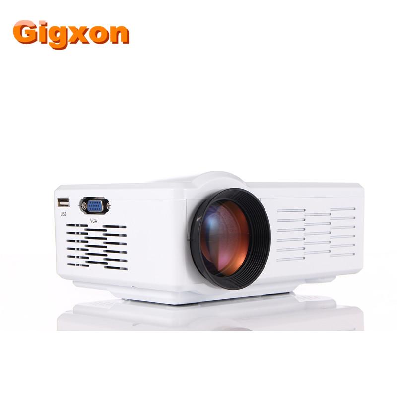 Gigxon - G350 Mini LED High Definition Projector with SD/AV/VGA/HDMI/USB Projector <br><br>Aliexpress