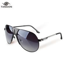 2015 Vintage Retro Sunglasses Men Brand Designer Driving Sun Glasses Vogue Fashion Men Best Choice Shield Shape Glasses 6142