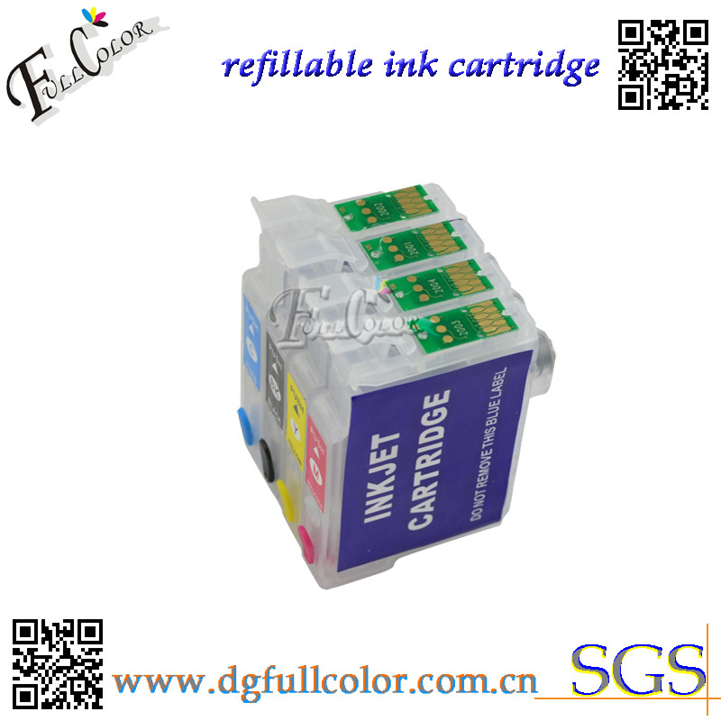 Free shipping hot T1661 refillable ink cartridge T1661 T1662 T1663 T1664 with ARC chip for epson ME-10 ME-101 printer