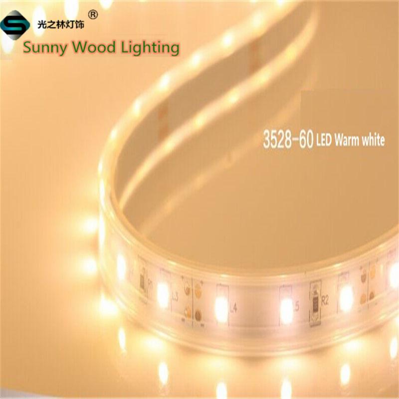 LED strips Free shipping waterproof LED Sleeve strips 5m/roll IP67 3528 LED softstrips 12V DC LED neon light christmas lights(China (Mainland))