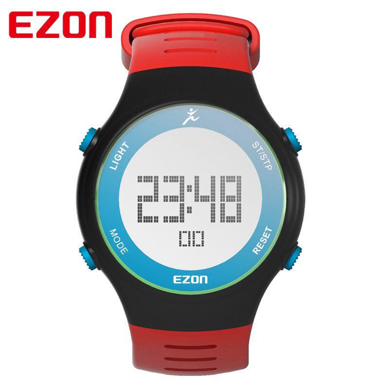 EZON brand  Wristwatch  watch men watches Outdoor Sports digital watch Leisure Watch 3ATM Water Resistant running watch