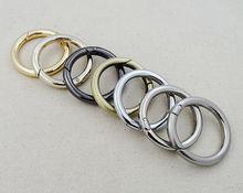 "Snap Clip Trigger Spring Gate O Ring Keyring Buckle Bag Accessories Rings 3/4""(China (Mainland))"