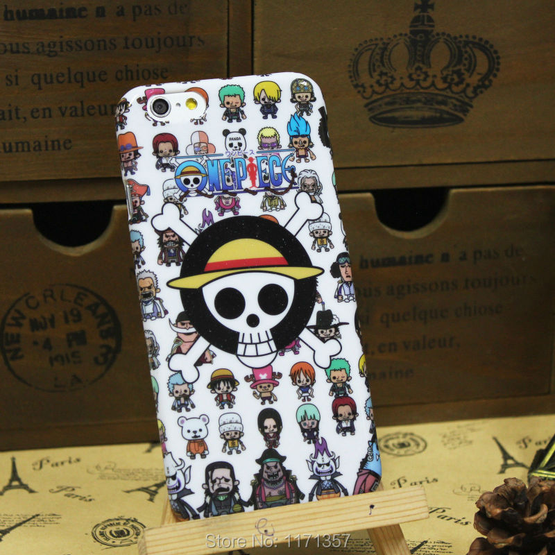 Anime White ONE PIECE Chopper Soft Rubber Skin Cover Cell Phone Case Apple iPhone 6 4.7 - Always See You store