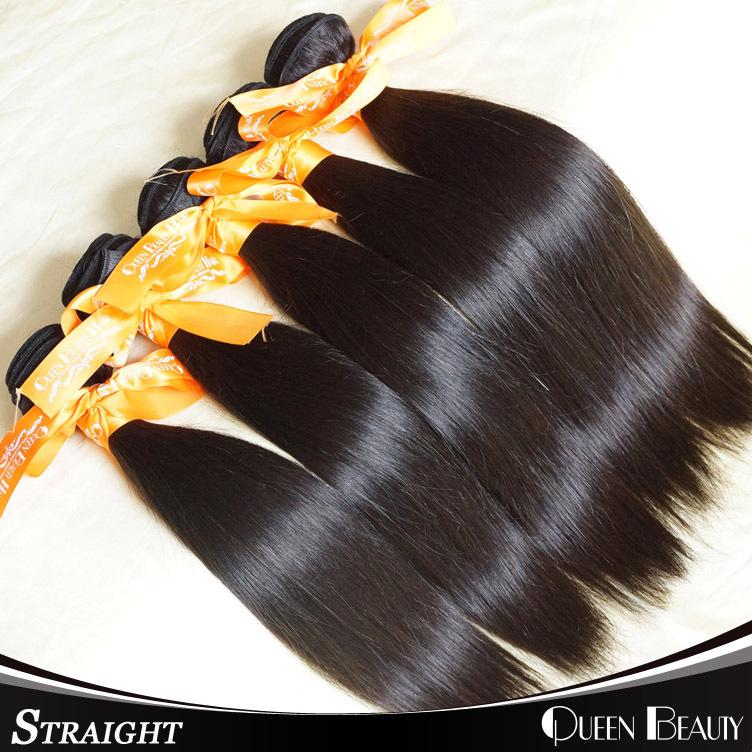 """Malaysian Straight Hair 4Pcs Lot Malaysian Virgin Hair Extensions 8""""-30""""inch Natural Black Hair,FREE SHIPPING(China (Mainland))"""