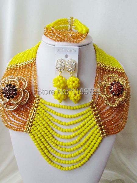 Preferred Special offer Nigerian Crystal Beads  Women Fashion Beads Jewelry Set Wedding Bridal Jewelry Set Free Shipping A-11439<br><br>Aliexpress