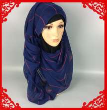 New arrive stripe design scarf ,hijab ,shawl viscose 180*90cm,10pcs 1lot ,can choose colors(China (Mainland))