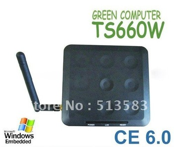 Free Shippping TS660W / N380W Wireless Win CE 6.0 OS Network Terminal Thin Client Net Computer Sharing