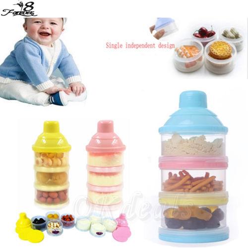 1 Компл. Сплошной Цвет Портативный Младенческой Кормления Молочных Продуктов Сухое ...
