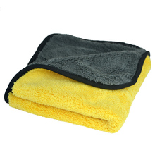 Auto Care 800gsm 45cmx38cm Super Thick Plush Microfiber Car Cleaning Cloths Car Care Microfibre Wax Polishing Detailing Towels(China (Mainland))