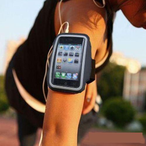 New Premium Running Sports GYM Armband Case Cover For iPod Nano 7 7th Black(China (Mainland))