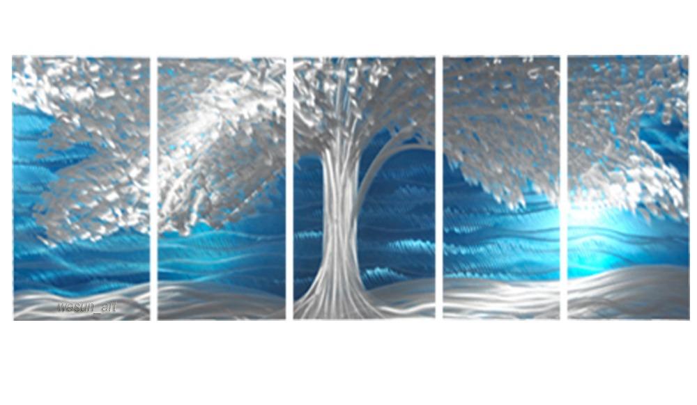 Fashion customized handmade metal wall art sculptures tree Design patterns wall painting