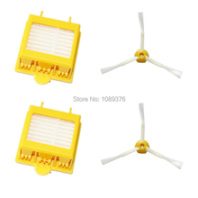 Free Post New 2 Filters + 2 Side Brush 3 Armed for iRobot Roomba 700 Series 760 770 780