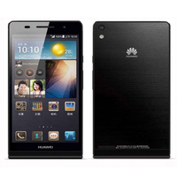 Original Huawei Ascend P6 U06 P6S Cell Phones WCDMA Android 3G Smartphone Quad Core 4.7'' IPS HD 2GB+16GB Rom 6.18mm 8MP Mobile