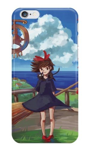 Kikis Delivery Service fashion mobile phone case cover for iphone 4 4s 5 5s 5c 6 6 plus 6s 6s plus *dn181(China (Mainland))