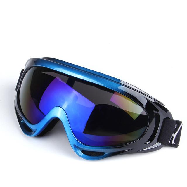 Открытый горнолыжные очки Лыжные Очки Двухместный UV400 Анти-туман Большой Лыжная Маска Очки Лыжи Мужчины Женщины Снег Сноуборд Очки гугл очки для плавания HX-X400