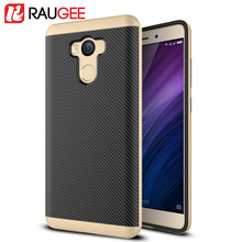 100% Brand New RAUGEE PC+TPU Case For 5.0'' Xiaomi Redmi 4 Pro Prime Smart Phone Anti-knock Protective Back Cover Case In Stock(China (Mainland))