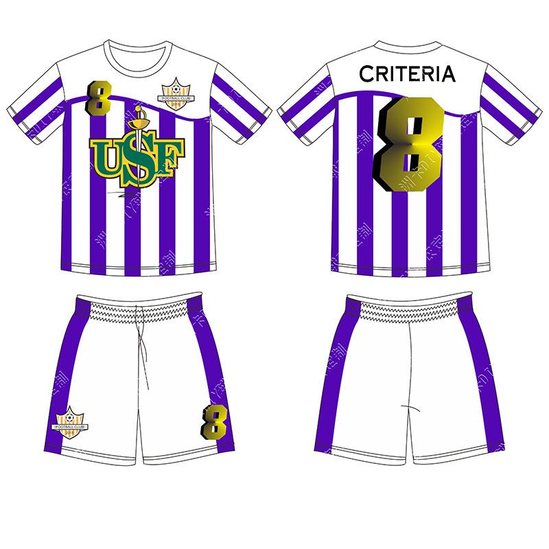 Custom latest football jersey designs Sublimation soccer shirt(China (Mainland))