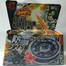 1 Pcs Beyblade Metal Fusion 4D Set BASALT HOROGIUM 145WD+Launcher Kids Game Toys Children Christmas Gift BB104 Lct_032(China (Mainland))