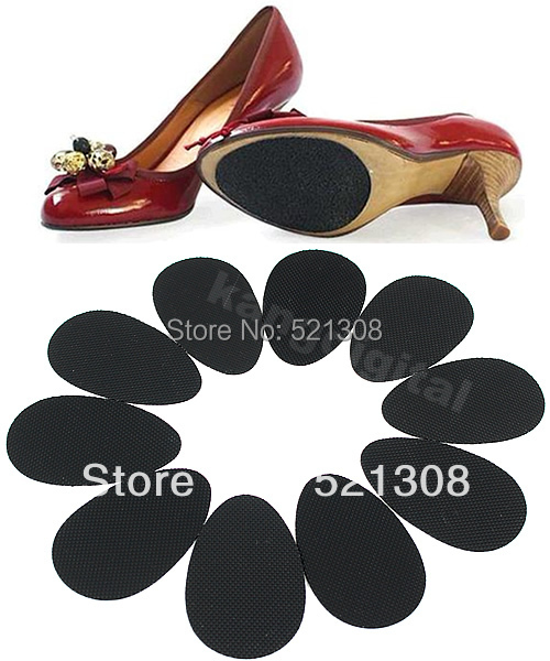 5 Pairs/lot Anti-Slip Shoes Heel Sole Protector Pads Self-Adhesive Non-Slip Grip Cushion accessories