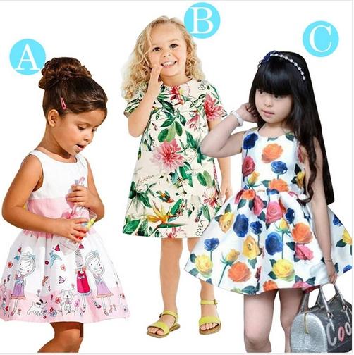 Baby Girl Dresses 2015 Brand Girls Summer Dress Kids Clothes Vestidos Princess Children Dress Kids Dresses for Girls Clothes(China (Mainland))