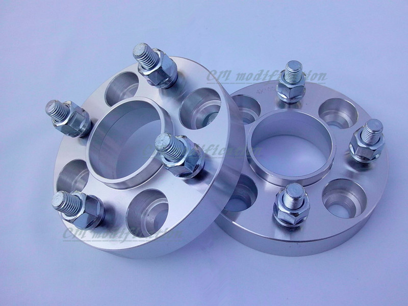 A pair of 2 pieces /25mm of 30mm,wheel adapters, wheel spacers 4 x108, 63.4 mm suitable for ford fiesta 1989-2014<br><br>Aliexpress