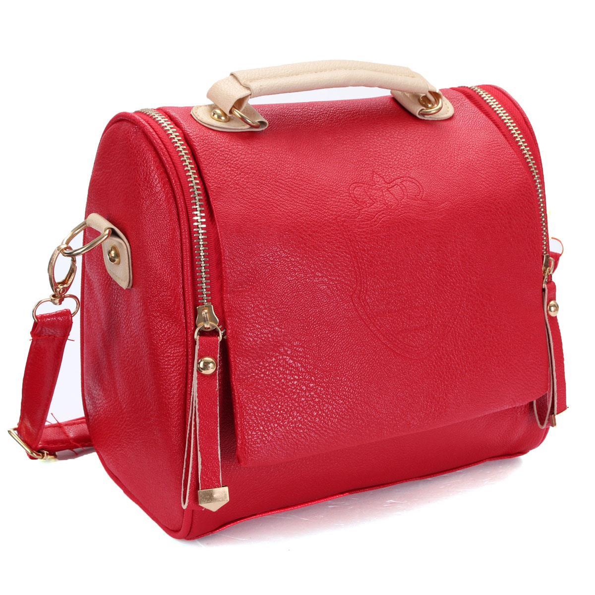 Hot Sale Women Handbgas Lady Embossed Crown PU Leather Retro Messenger Shoulder Bags Satchel Vintage Tote Bolsas Fashion Style(China (Mainland))