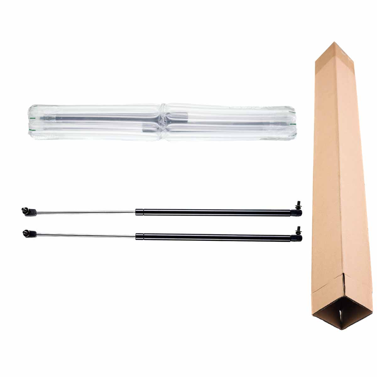 Set of 2 Rear Trunk Tailgate Lift Supports Shock Gas Struts for Toyota Celica 1982-1985 Hatchback Without Rear Wiper 4702(China (Mainland))