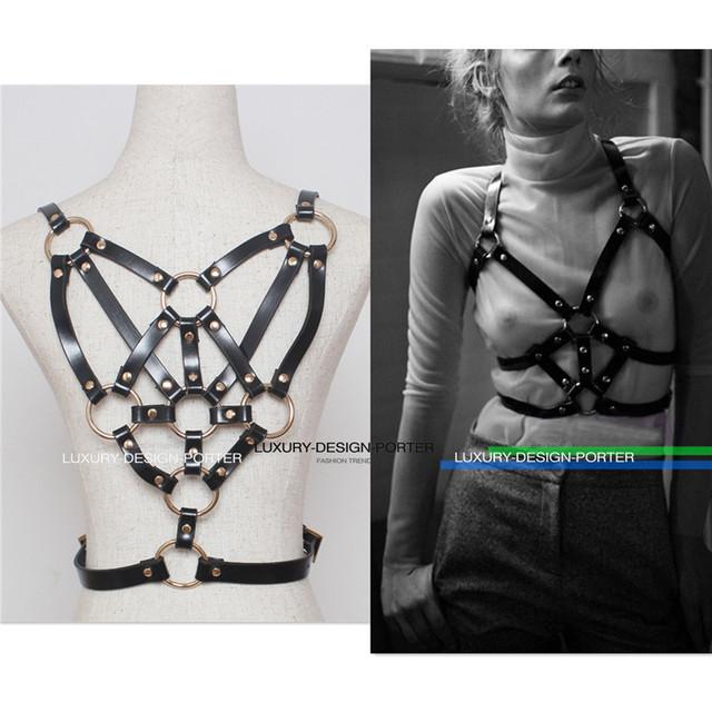 Дизайнерский бренд класса люкс из натуральной кожи тела рабства флягодержатель ремень ну вечеринку ремень привязного ремня