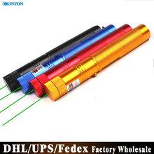 Free DHL Fedex 50pcs/lot High Power Laser Pointer  303 Powerful Green Laser Pointer Pop Ballon Astronomy Lazer Pointers Pens(China (Mainland))
