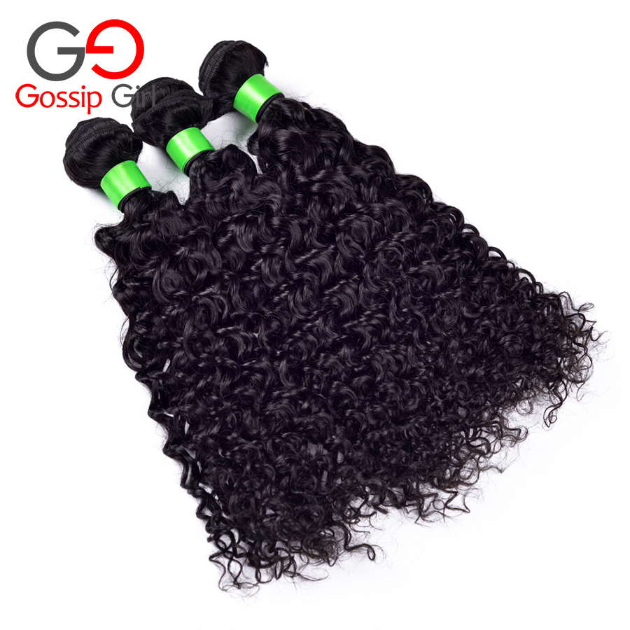 Ali Pop Hair 4pcs/lot Free Shipping Brazilian Virgin Hair Water Wave  8''-30''Hair Extentions Unprocesed Virgin Hair