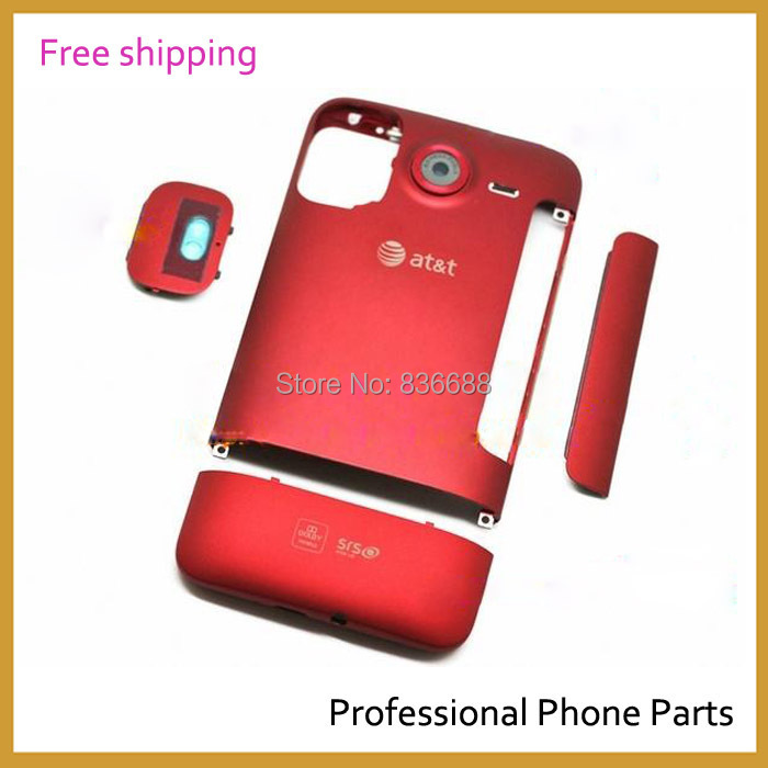 Original Complete Housing Cover Battery Back Door Cover Case For HTC DESIRE HD G10 AT&T Parts , Free Shipping(China (Mainland))