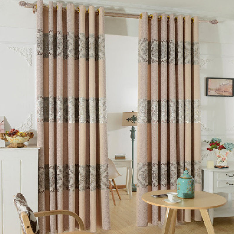 Luxury Curtains For Living Room Cortinas De Cocina Modern Bedroom Curtain Simple Curtain