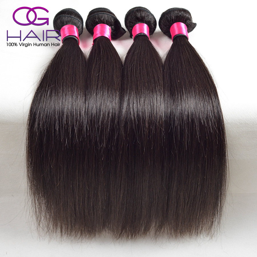 6A Brazilian Straight Hair 3pcs Lot Rosa Hair Products Brazilian Virgin Hot Brazilian Human Hair Remy Hair Bundles Free Shipping