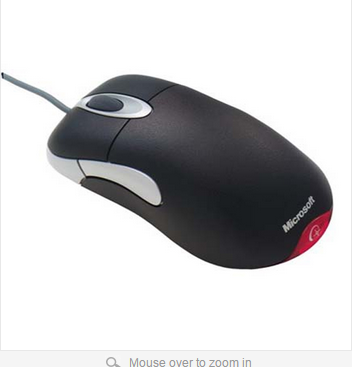 Wholesale IO1 1 USB Wired Gaming Mouse Without Retail Box USB Wired Optical Microsoft IntelliMouse IO
