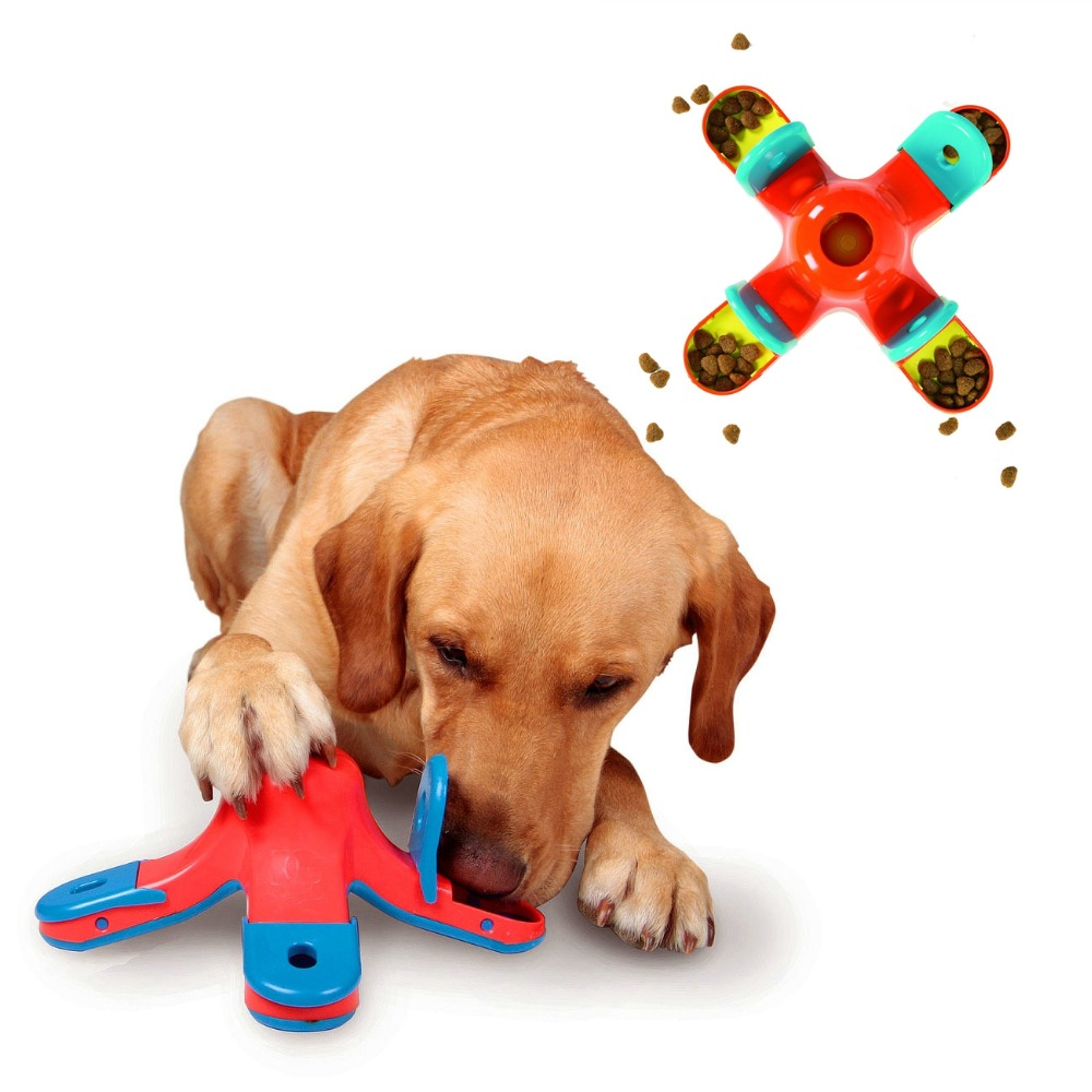 Dog Toys Kyjen Kibble Drop Treat Toy Scent Puzzle Training Toy Goods for pets Scent Holes on the Chambers Supply Store/Shop(China (Mainland))
