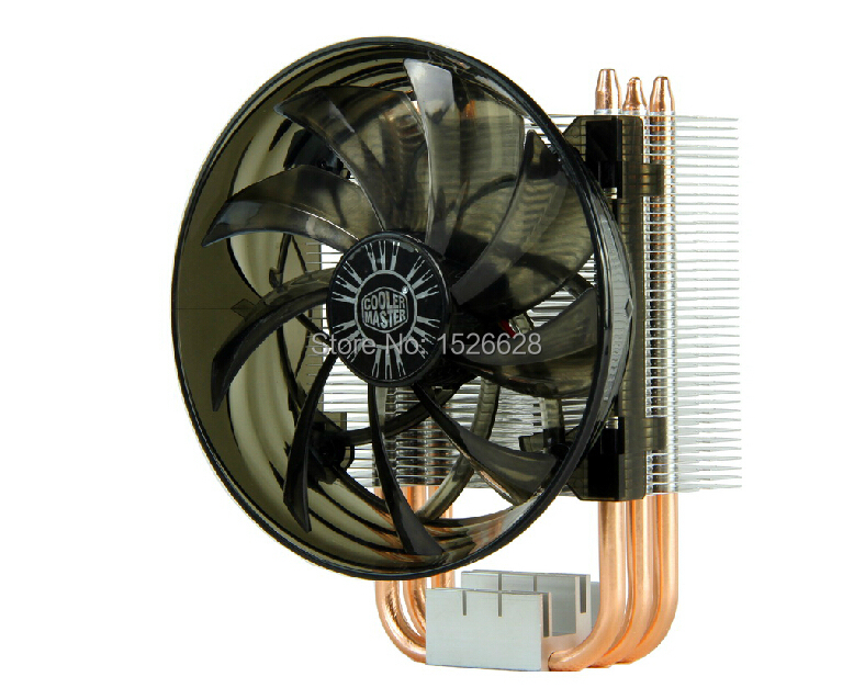 12cm fan 3 heatpipe Intel LGA1156/1155/1150/775 AMD FM1/FM2/AM3+/AM3/AM2+/AM2 cooler CPU fan CPU cooling Cooler Master 300(China (Mainland))