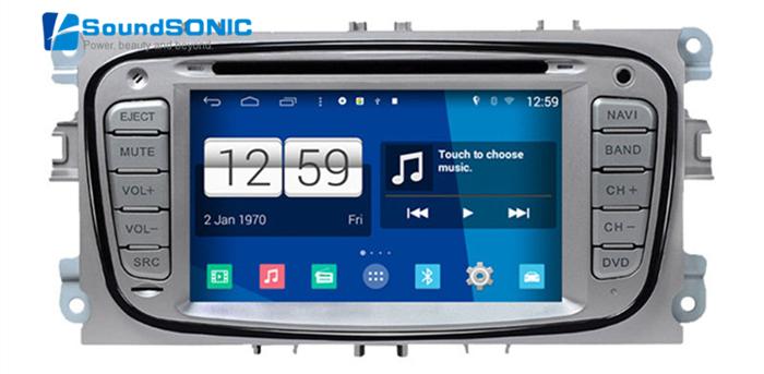 Android 4.4.4 For Ford For Focus 2 Mondeo Kuga S-max C-max Car Radio Stereo DVD GPS Navigation Sat Navi Multimedia Media System(China (Mainland))