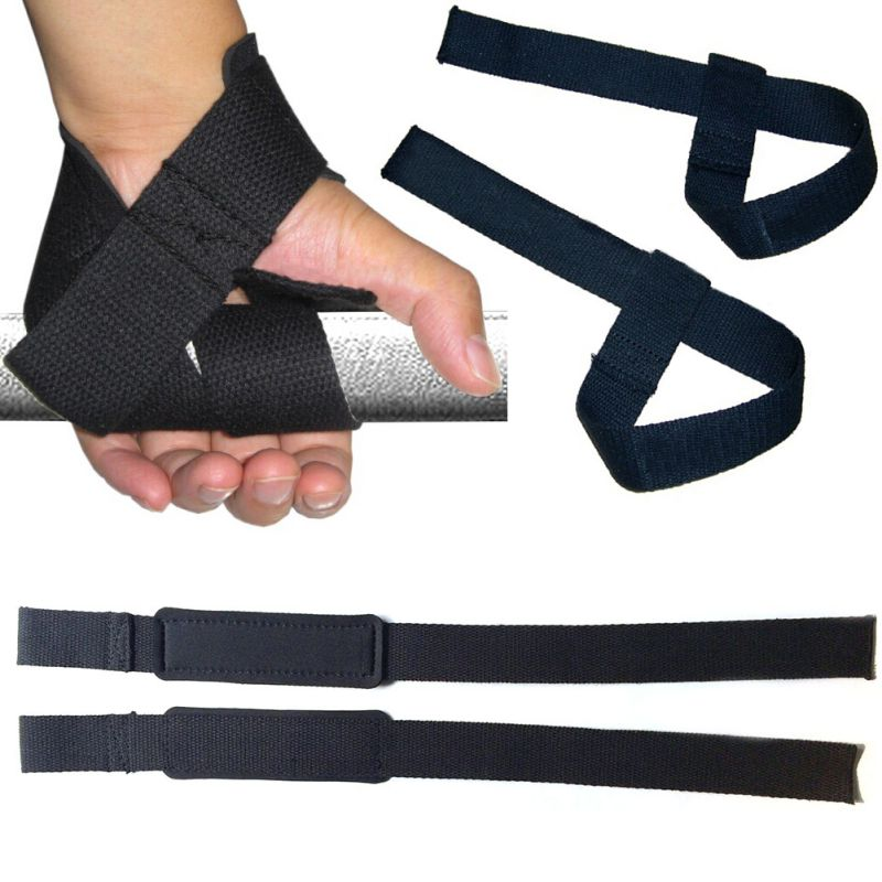 Weight Lifting Wrist Wraps Bandage Support Gloves Gym: Weight Lifting Hand Wrist Bar Support Strap Brace Support