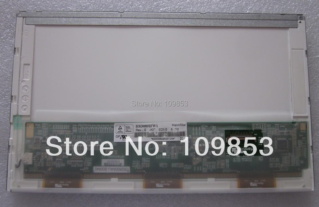 Grade A HSD089IFW1 A089SW01 B089AW01 LP089WS1 B089AW01 V.3 N089L6-L03 Glossy 1024x600 LED Backlight LAPTOP LCD Screen(China (Mainland))
