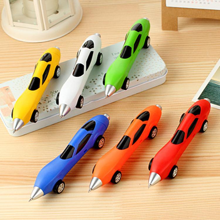 Hot Sale New Car Shape Ball Pen Ballpoint Pen Automobile Modeling Creative Pen Home Office Supplies Stationery OSS-011880(China (Mainland))