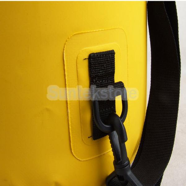 New 2014 Brand New Outdoor 60L Waterproof Drift Dry Bag For Canoe Floating Camping Boating Yellow(China (Mainland))