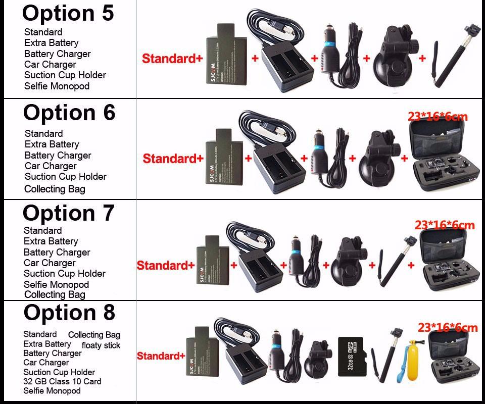 Original SJCAM SJ5000X Elite Gyro Sport Action Camera WiFi 4K 24fps 2K 30fps Diving 30M Waterproof NTK96660 SJ CAM Sports DV