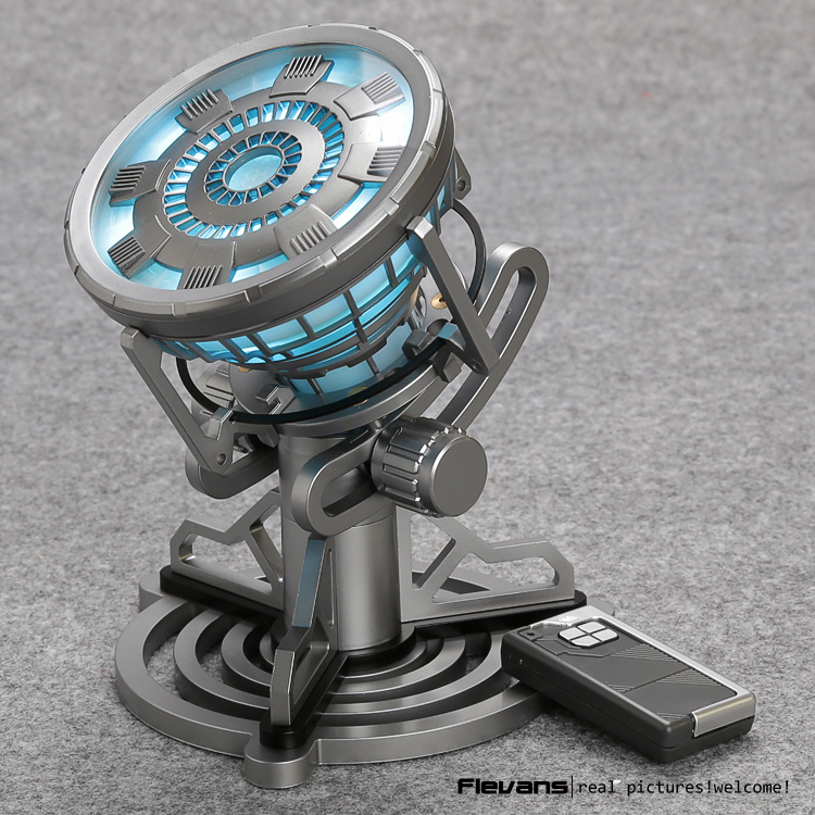 Toys Legend 1:1 scale Iron Man MK6 Arc Reactor with LED Light Iron Man 3 PVC Action Figure Toy HRFG482<br><br>Aliexpress