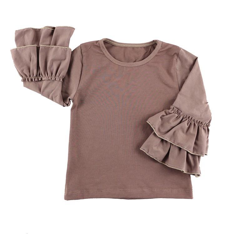 2016 New Real Minecraft Minion Wennikids Solid Cotton Sleeve Ruffle Top,girl T-shirt Children T Shirts Kid Tops Free Shipping  HTB1xsuNHVXXXXaLXXXXq6xXFXXXb