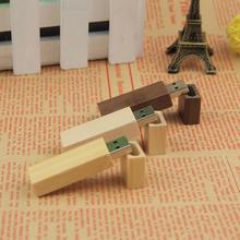 Brand New Custom LOGO Wooden memory Stick usb 2.0 usb flash drive pen drive pendrive 4gb 8gb 16gb U disk wedding gift business(China (Mainland))